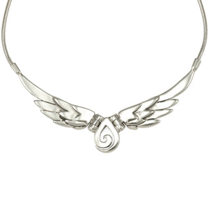 Spiral Wing Necklace