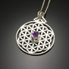 Flower of Life with Amethyst