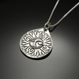 Sun-Moon-Earth pendant