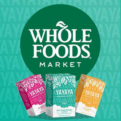 YAYAYA AMERICAN YAUPON is available at Whole Foods Market Southwest Region