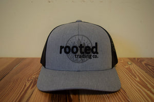 classic rooted logo hat (color options)