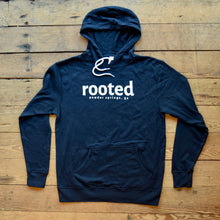 Load image into Gallery viewer, rooted original hoodie - navy