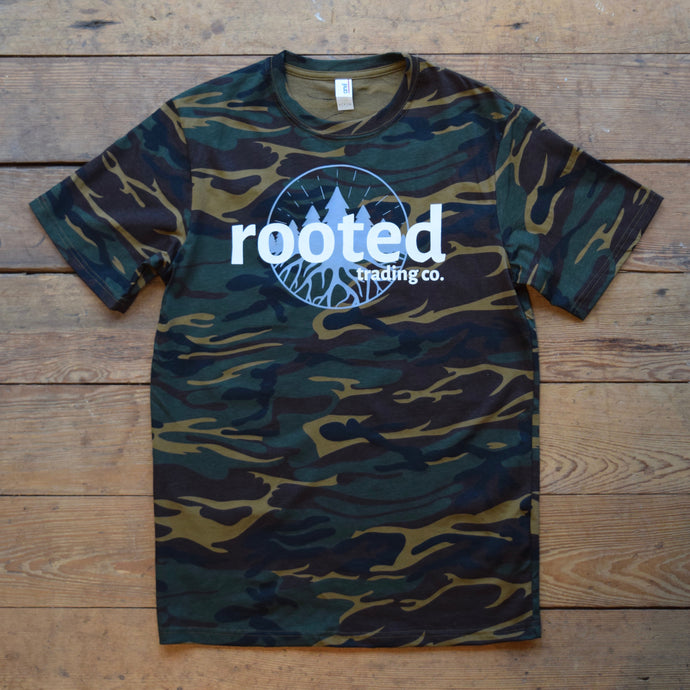 rooted original tee - camo