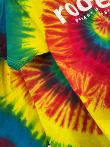 rooted Powder Springs tee - Youth Tie dye