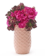 "Load image into Gallery viewer, The Amaranth Vase - 7.5"" Smarter Vase for Floral Care in Pink"
