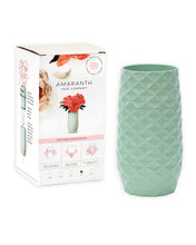"Load image into Gallery viewer, The Amaranth Vase - 7.5"" Smarter Vase for Floral Care in Teal"
