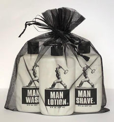 Man Sac™ - The Three Sac-Man Shave - manstuffetc