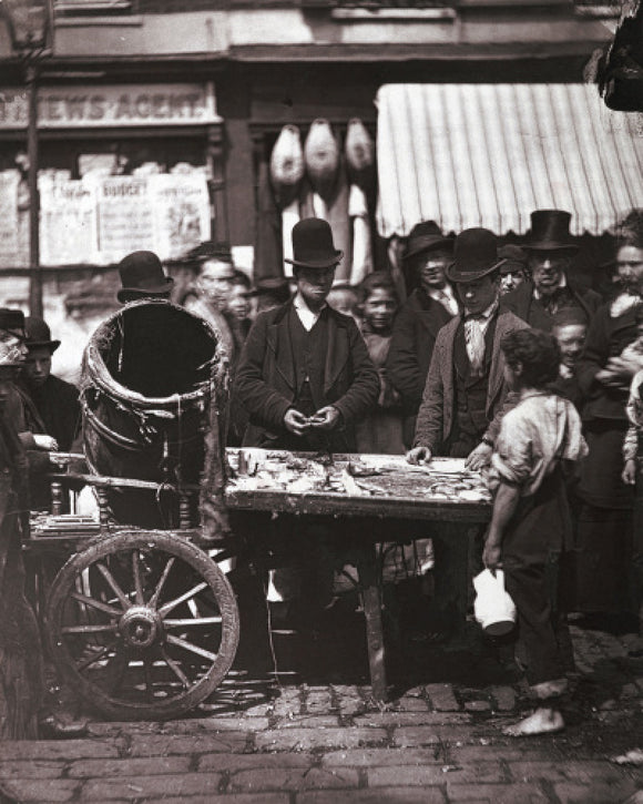 The Cheap Fish of St. Giles's: c.1877