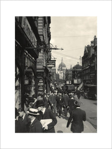 Fleet Street, looking East: 20th century