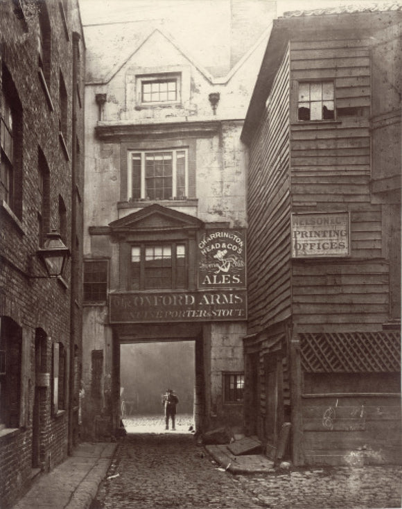 The Oxford Arms Inn: c.1880