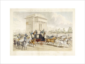 Scenes on the road, or a trip to Epsom and back. Hyde Park Corner: 1838