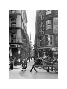View of Cheapside: 20th century