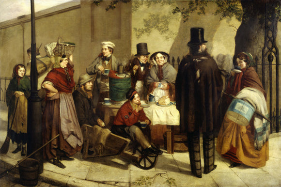 Breakfasting Out; 1859