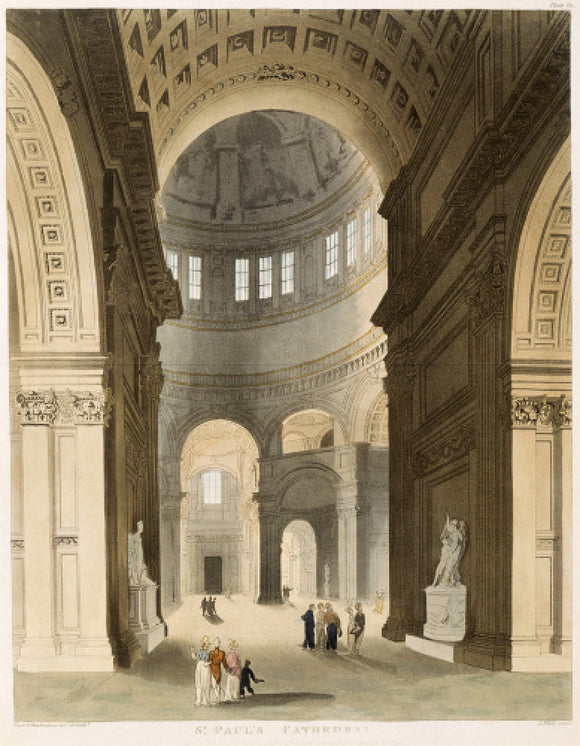 St Paul's Cathedral: 1809
