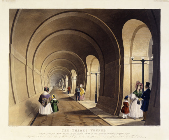 The Thames Tunnel: 1835