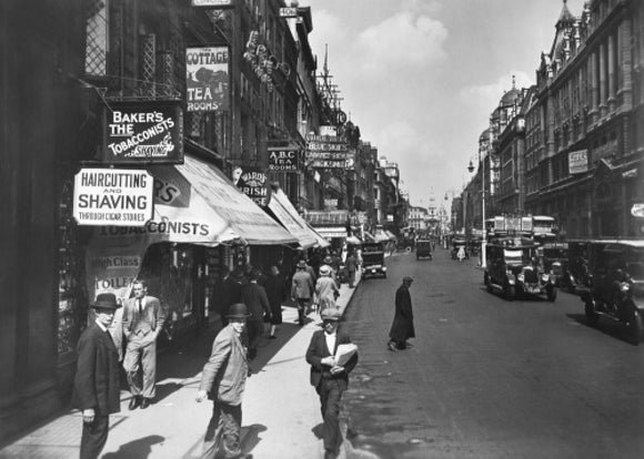 Strand, looking east: 20th century
