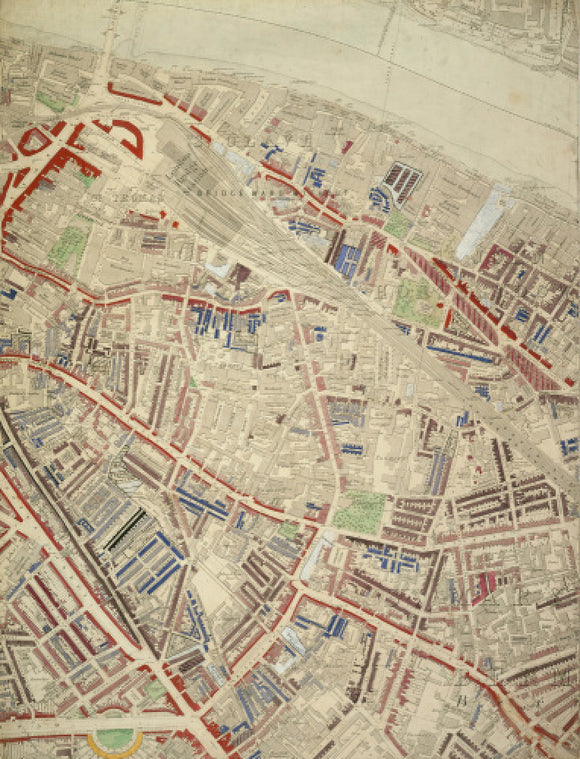 Descriptive map of London Poverty: Section 37: 1889
