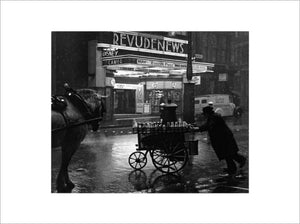 Milkman on Charing Cross Road: 1935