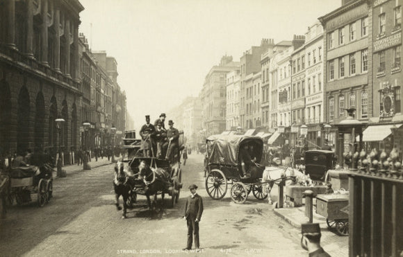 The Strand looking west; c 1900