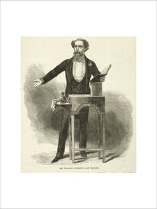 Mr Charles Dickens's Last Reading: 1870