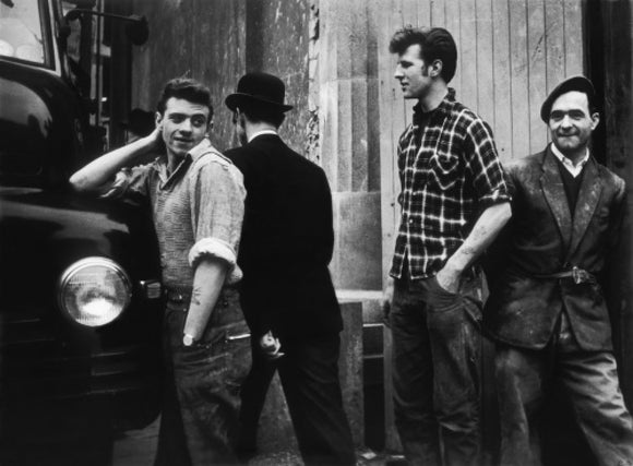 Men on the street: 1961