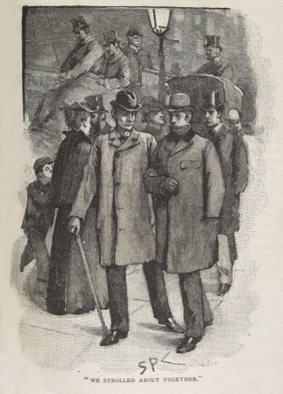 Illustration from the Strand Magazine; 1893