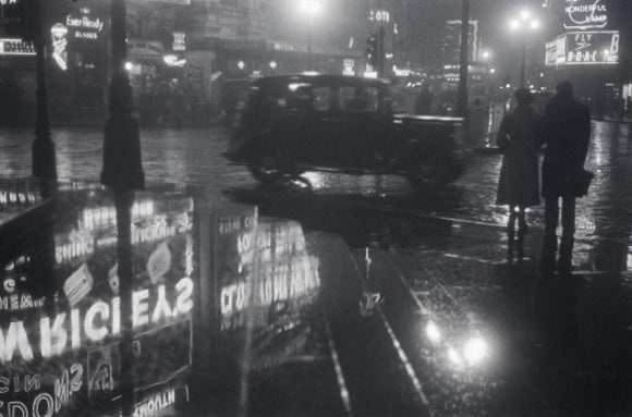 Piccadilly at Night; 1958