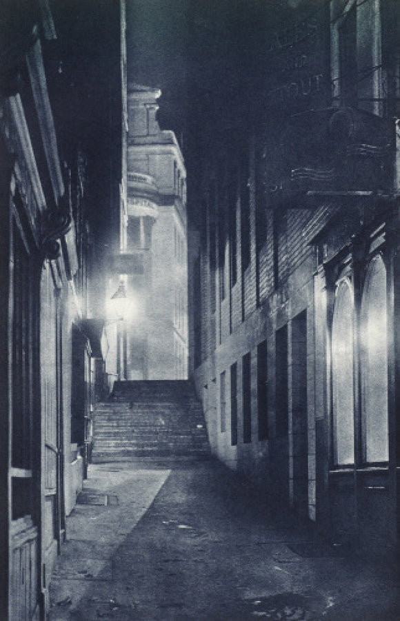 Grange Street at night; 1934