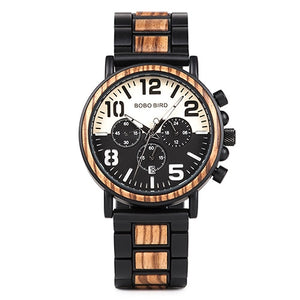 Business Style Wood Watch