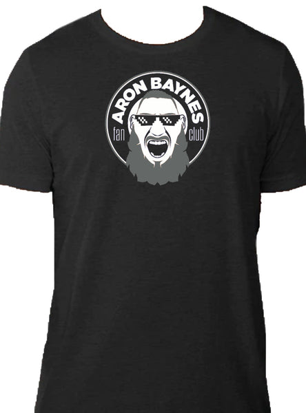 The Black and White Edition Baynes Fan Club T-Shirt