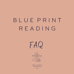 BLUE PRINT - GEBOORTEHOROSCOOP READING
