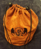 D&D Embroidered Dragon Large Velvet Dice Bag