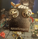 D&D RPG Treasure Chest Enamel Lapel Pin *Signature Series*