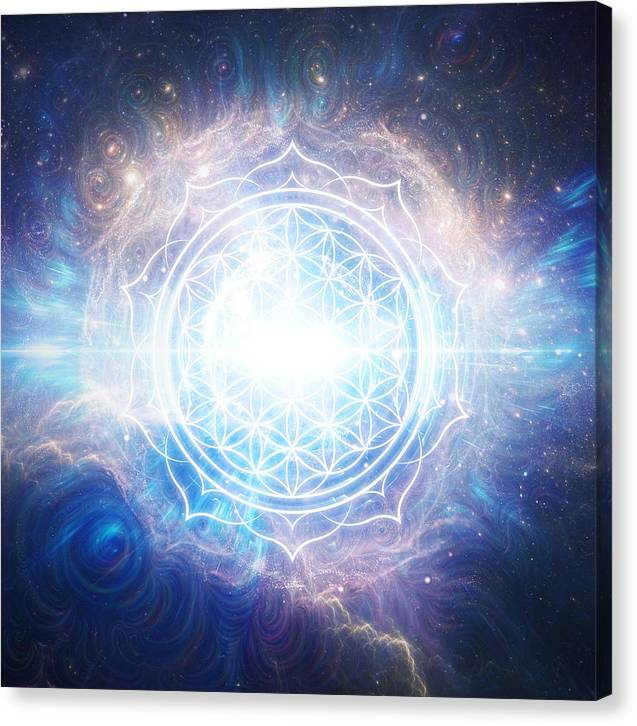 Flower of Eternity - Canvas Print