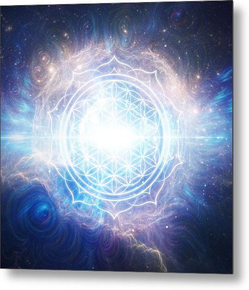 Flower of Eternity - Metal Print