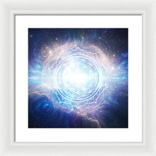 Load image into Gallery viewer, Flower of Eternity - Framed Print
