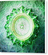 Load image into Gallery viewer, Anahata Chakra - Canvas Print
