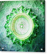 Load image into Gallery viewer, Anahata Chakra - Acrylic Print