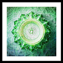 Load image into Gallery viewer, Anahata Chakra - Framed Print