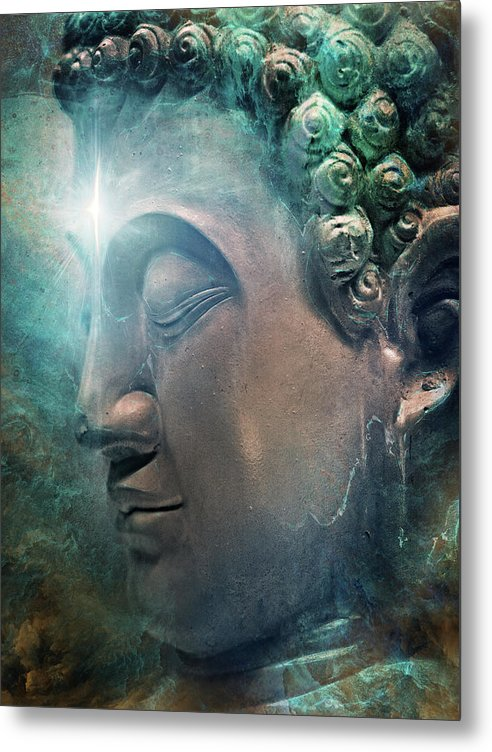 Awakening into Eternity - Metal Print