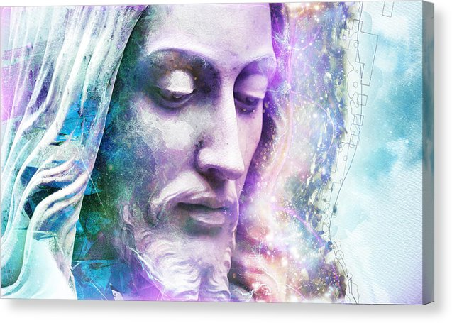 Cosmic Christ - Canvas Print