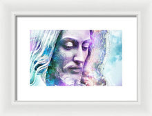 Load image into Gallery viewer, Cosmic Christ - Framed Print