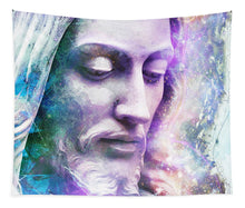 Load image into Gallery viewer, Cosmic Christ - Tapestry