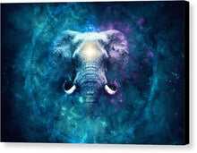 Load image into Gallery viewer, Cosmic Ganesha - Canvas Print