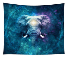 Load image into Gallery viewer, Cosmic Ganesha - Tapestry