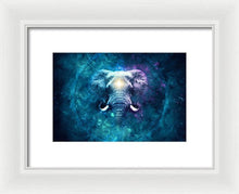Load image into Gallery viewer, Cosmic Ganesha - Framed Print