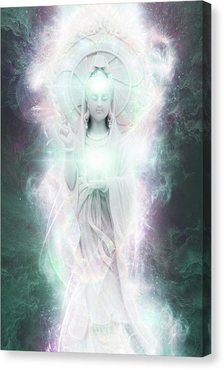 Cosmic Quan Yin - Canvas Print