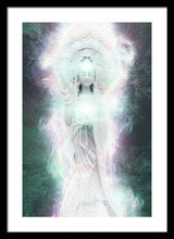 Load image into Gallery viewer, Cosmic Quan Yin - Framed Print
