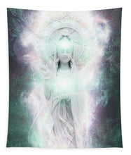 Load image into Gallery viewer, Cosmic Quan Yin - Tapestry