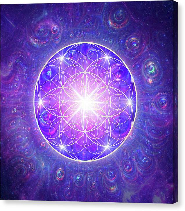 Flower of Life - Canvas Print
